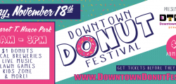 Downtown Donut Festival: Nov. 18, 2018