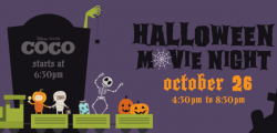 Get your treats by the tracks at the Railroad Park's Halloween Movie Night