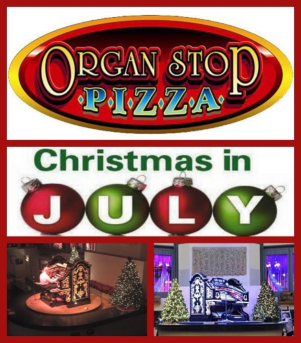 Beat the Heat at ORGAN STOP PIZZA - Christmas in July with United Food Bank