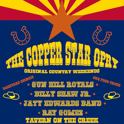 The Copper Star Opry - original country weekends