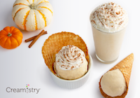 Creamistry Celebrates Fall with Pumpkin Spice and Everything Nice OCT. 3-NOV. 25