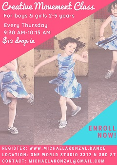 Creative Movement Dance Class