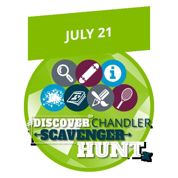 #DiscoverChandler Scavenger Hunt (Chandler, AZ)