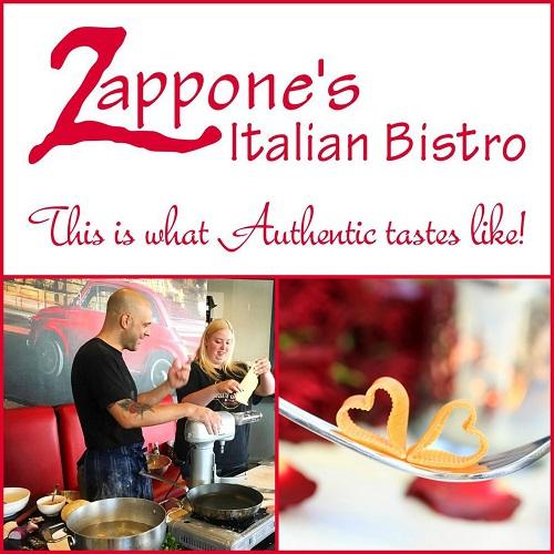 Romantic Cooking Class at Zappone's Italian Bistro