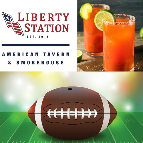NFL Sundays & Brunch at Liberty Station