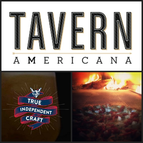 Beer & Pizza Pairing featuring Stone Brewing at Tavern Americana