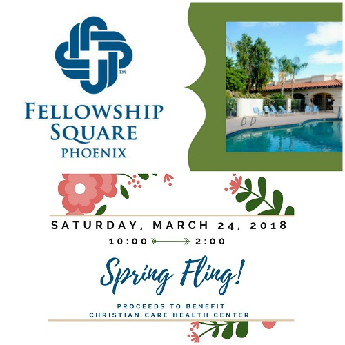 Fellowship Square Senior Living Community Announces Spring Fling Event