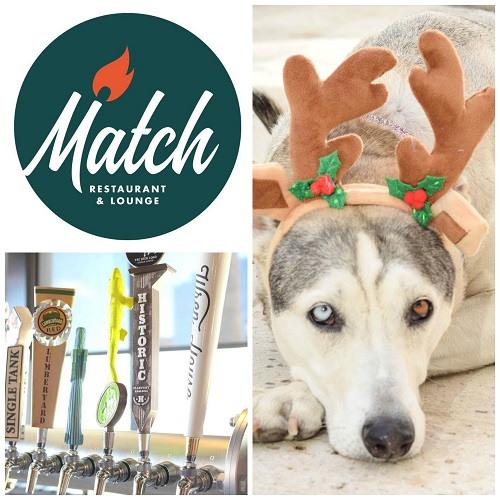 Yappy Hour at Match Restaurant & Lounge