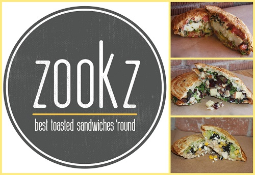 New Summer Zookz Sandwiches Menu